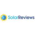 Logo for SolarReviews, an independent solar company review site